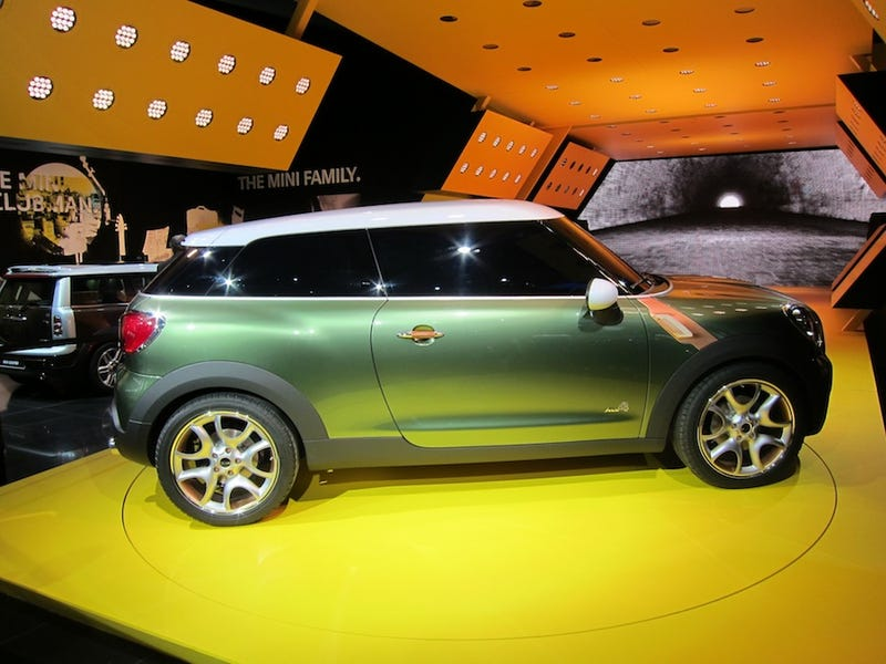 Illustration for article titled Mini Paceman Concept Heads To Production