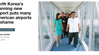 Business Insider Invites You to Visit North Korea's Glorious New Airport