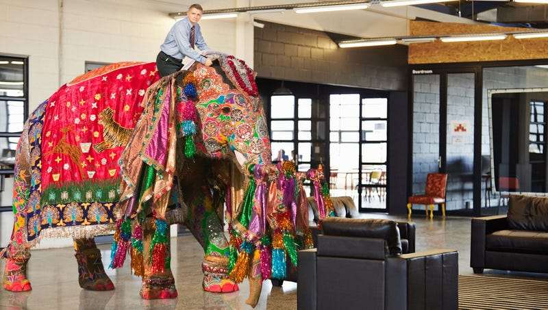 Illustration for article titled Interview Essentials: Job Recruiters Say Riding Into An Interview On A Bejeweled Elephant Increases Your Chances Of Getting Hired By 5%