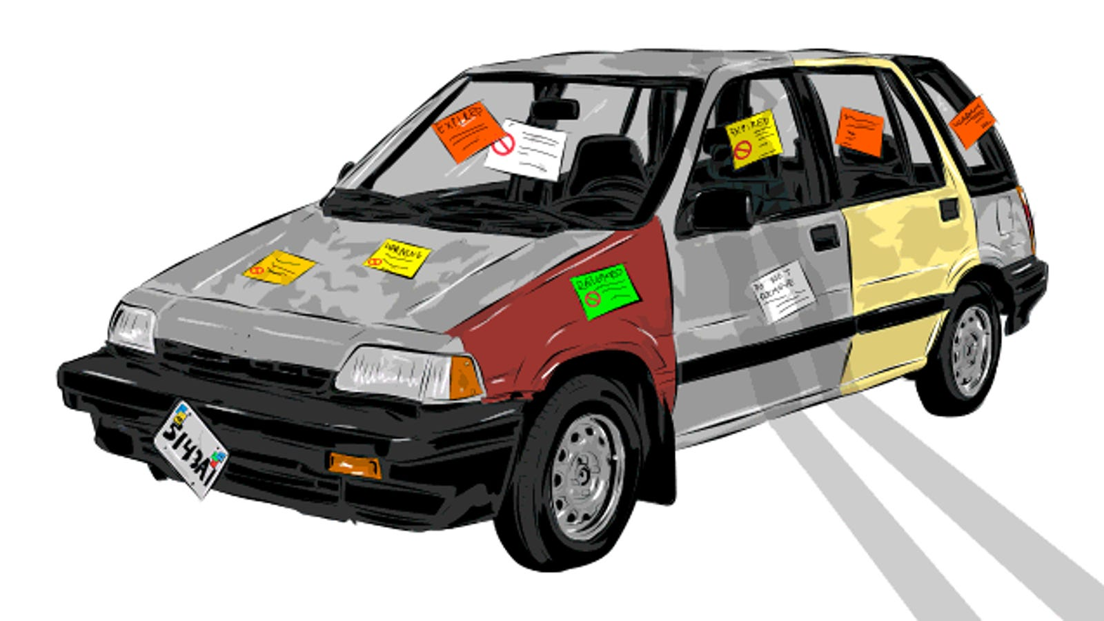 How To Drive An Illegal-Ass Car For Years Without Getting Busted