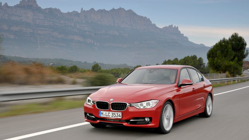 Illustration for article titled Diesel Four-Banger BMW 328d Will Debut At The New York Auto Show