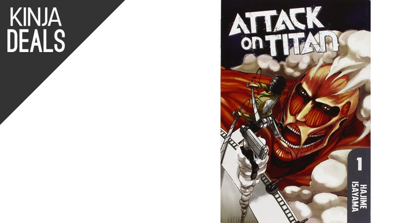 Illustration for article titled Today's Best Media Deals: Attack on Titan, Planet Earth, and More
