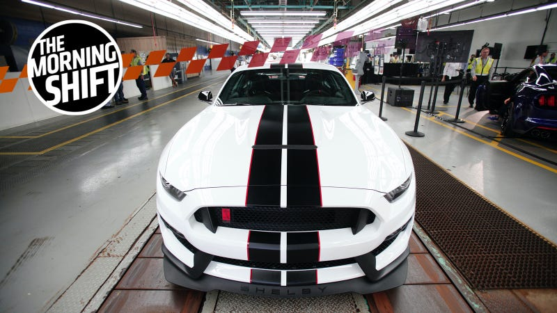 The Ford Mustang, built in Flat Rock, Michigan, is among the cars exported to China.