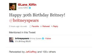 Illustration for article titled Lane Kiffin Tweeted A Happy Birthday Wish To Britney Spears