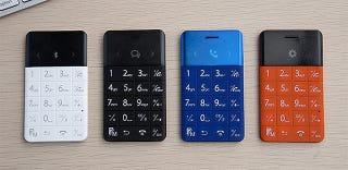 Un móvil tan pequeño que podrás llevarlo con tus tarjetas bancarias
