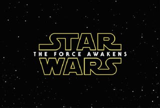 Illustration for article titled Star Wars: Episode VII Is Called... The Force Awakens