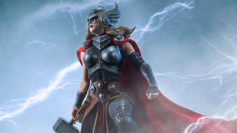 Jane Foster as Thor, interpreted by Sideshow Collectibles.