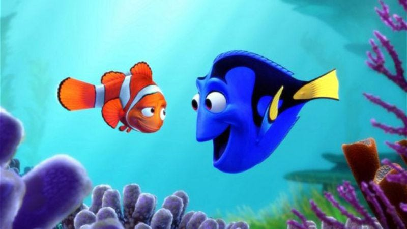 Illustration for article titled Pixar hires basically every actor to voice its new movies, rewrites ending of Finding Nemo sequel because of Blackfish
