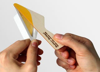 Illustration for article titled Concept Butter Package Packs A Butter Knife In The Lid