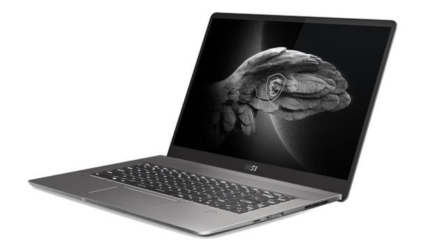 MSI's New Creator and Gaming Laptops Show Off a Sleeker Side