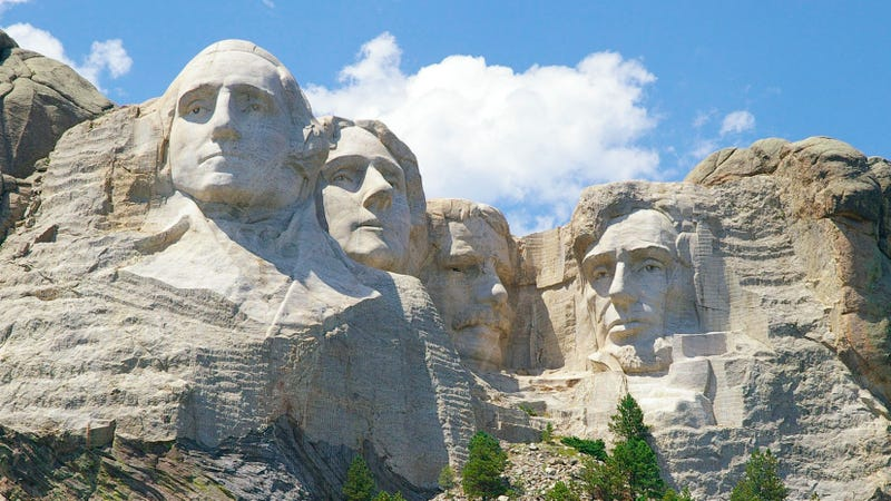 Illustration for article titled Mount Rushmore Has a 'Hall of Records' Hidden Behind Abe Lincoln's Noggin