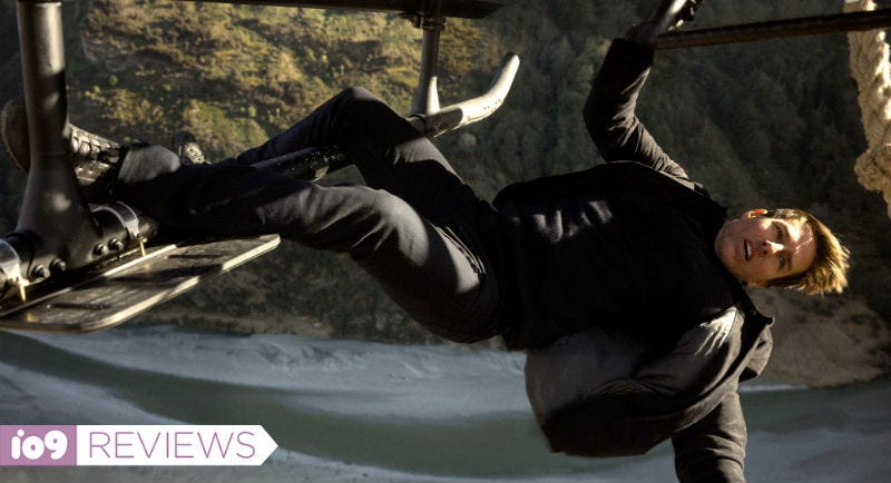 Tom Cruise hanging from a helicopter? There must be a new Mission: Impossible movie coming out.