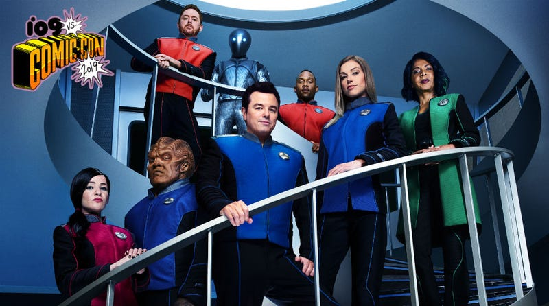 The cast of The Orville.
