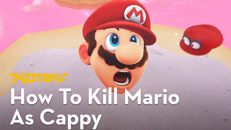 turns out cappy can kill you in super mario odyssey