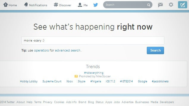 Search Twitter More Efficiently with These Search Operators