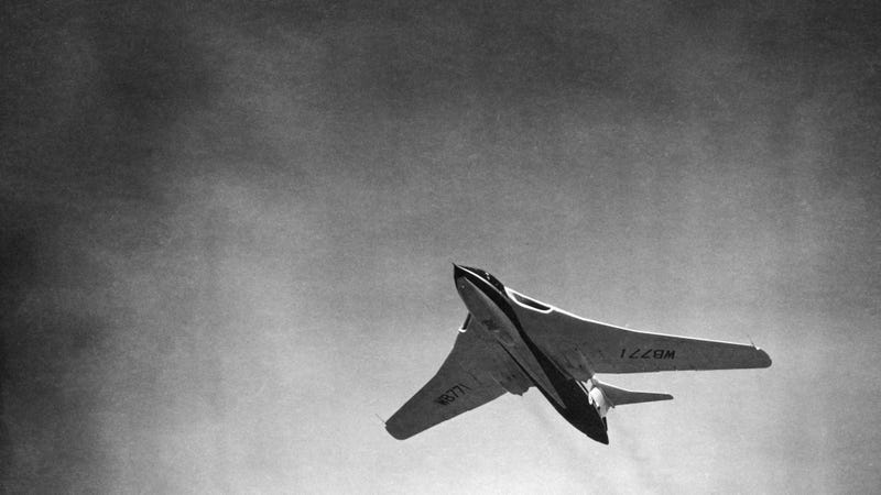 Illustration for article titled This Weird Plane Was Made By Cold War Britain
