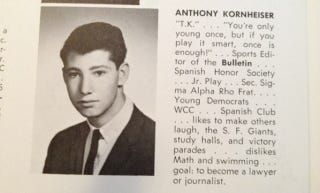 Illustration for article titled Do With Tony Kornheiser's High School Yearbook Picture What You Will