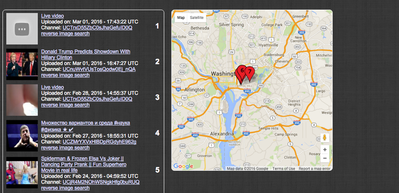 Image: Geo Search Tool