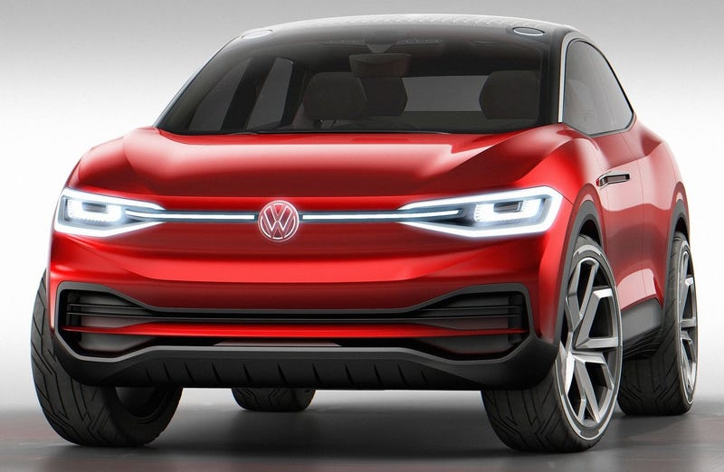 Illustration for article titled You're Gonna Have To Get Your Electric Volkswagen In Crossover Form, America