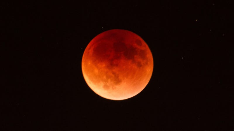 A 2015 lunar eclipse