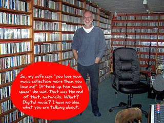 Illustration for article titled Question of the Day: How Big is Your Digital Music Collection?