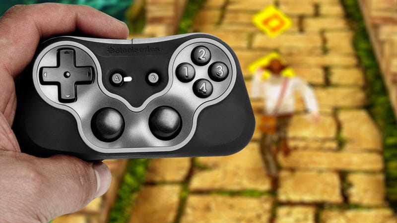 Illustration for article titled The SteelSeries Free Controller Makes Mobile Gaming Almost Too Easy