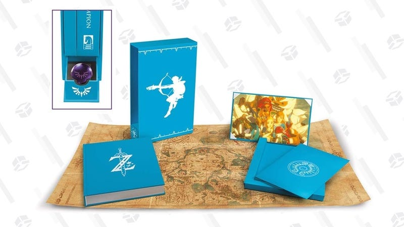 The Legend of Zelda: Breath of the Wild—Creating a Champion - Hero's Edition | $53 | Amazon