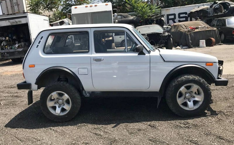 At 7 600 Could This Grey Market 1980 Lada Niva Have You Russian To