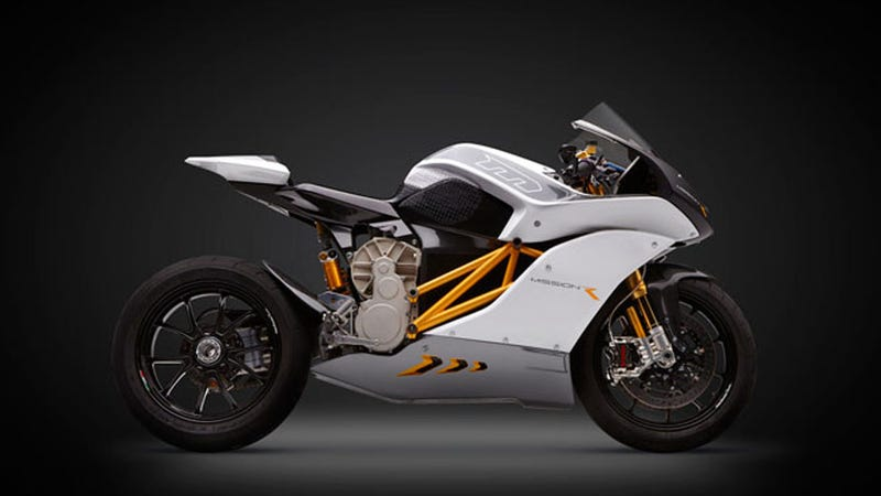 Illustration for article titled World's Fastest Electric Superbike: All the VROOM, None of the Gas