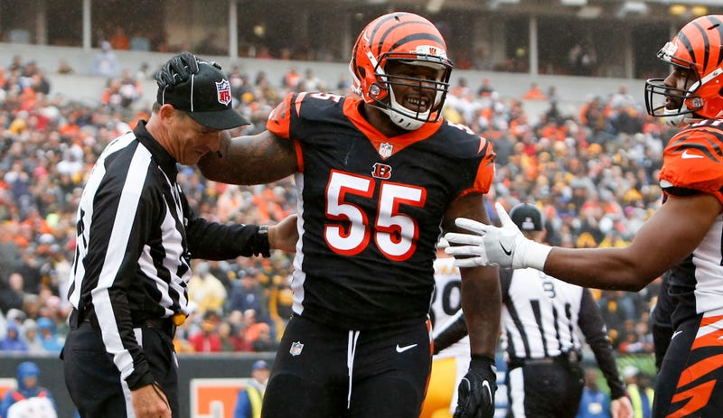 the best attitude 9212c 71845 Steelers Want Vontaze Burfict Punished For His Latest Dirty ...