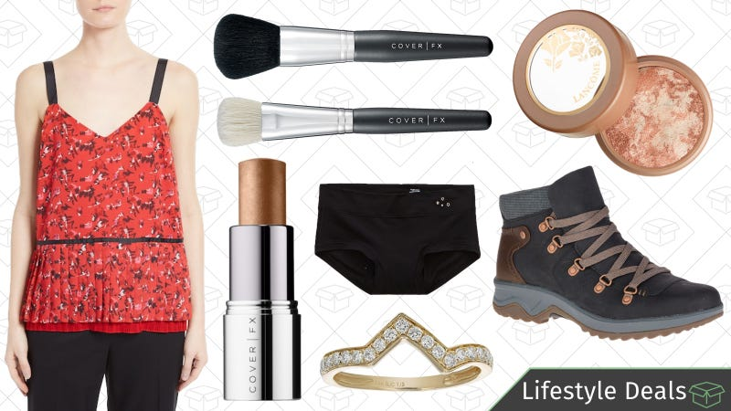 Illustration for article titled Friday's Best Lifestyle Deals: Merrell, Aerie, Sephora, Diamond Jewelry, and More