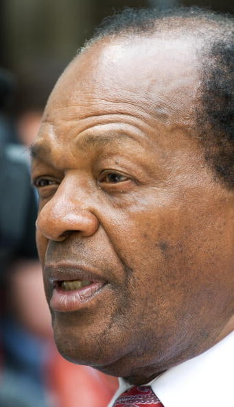 Marion Barry is peeved with Giant.