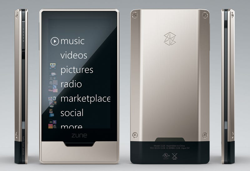 Illustration for article titled Zune HD Is Real, Has Multitouch Web Browsing, OLED Screen and HD Video
