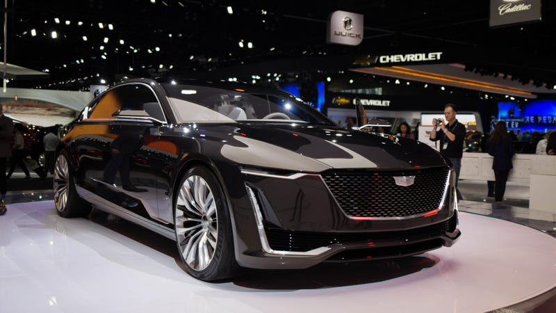 Pictured The Cadillac Escala Concept Photo Kristen Lee Jalopnik