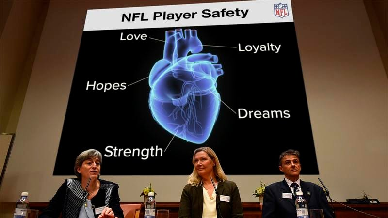 Illustration for article titled Fresh Perspective: The NFL Has Announced That Instead Of Studying What's In The Players' Brains, We Should Be Studying What's In The Players' Hearts