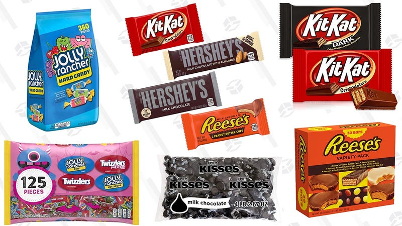 Halloween Candy Gold Box | Amazon