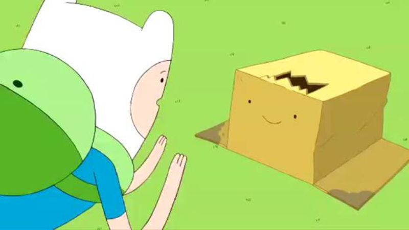 "Illustration for article titled Adventure Time: ""Box Prince"""