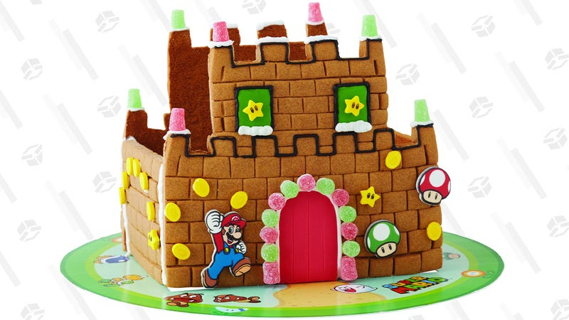 Wilton Build-it-Yourself Nintendo Mario Bros. Gingerbread Castle | $14 | Walmart