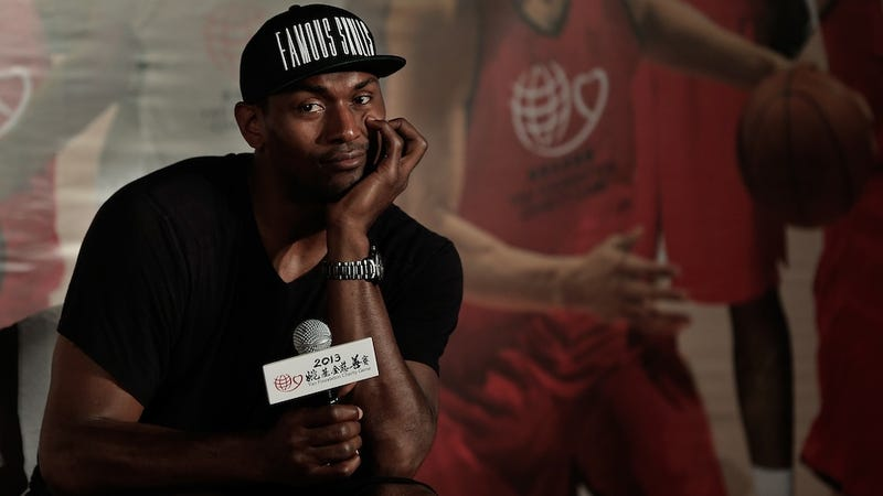 Illustration for article titled Metta World Peace Reacts Wonderfully To Reports Of His Pending Release
