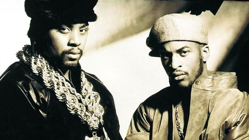 "Illustration for article titled ""Let The Rhythm Hit 'Em"" puts Eric B & Rakim on equal footing"