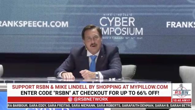MyPillow CEO's Cyber Symposium Goes Down in Flames After His 'Cyber Guy' Admits It's a Sham