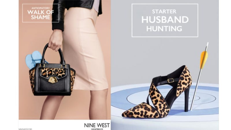Illustration for article titled Is Nine West's New Ad Campaign Offensive or Funny?