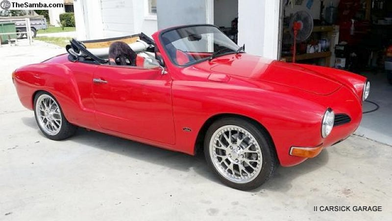 Illustration for article titled For $19,500, This 1970 VW Karmann Ghia Will Give You A Hummer