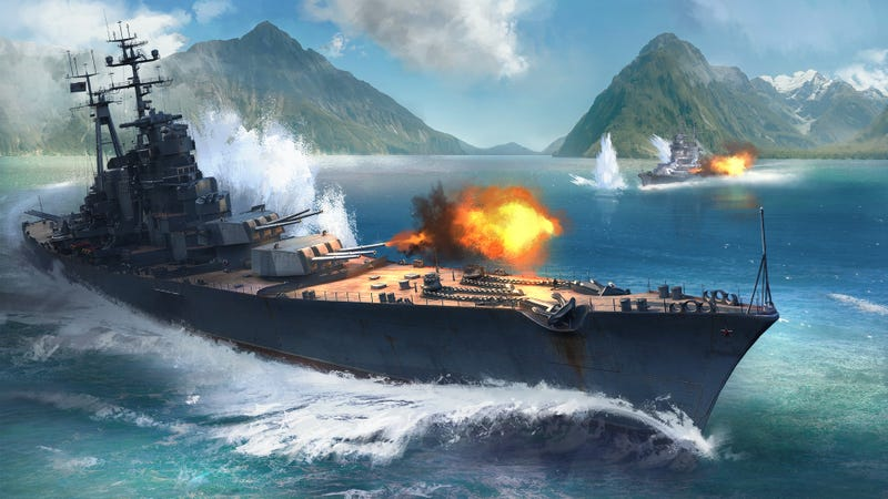 Illustration for article titled Battleships Are Cool