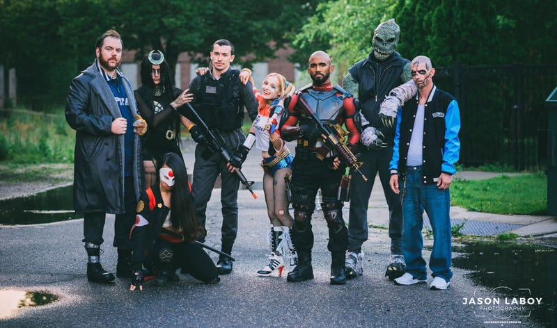 Illustration for article titled The Suicide Squad Are Here To Blow Up Cosplay