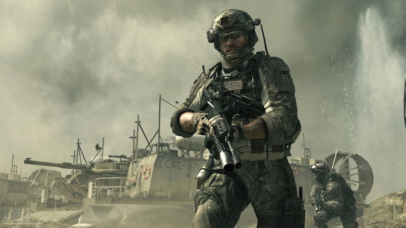 Illustration for article titled New 'Call Of Duty' Career Mode Lets Player Join Raytheon's Board Of Directors After Military Service