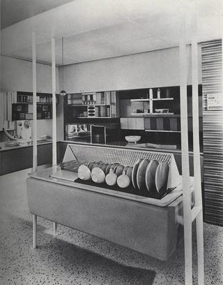 Illustration for article titled The Kitchen of the Future as Seen by Mad Men in 1962