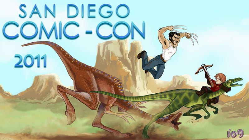 Illustration for article titled Welcome to Comic-Con
