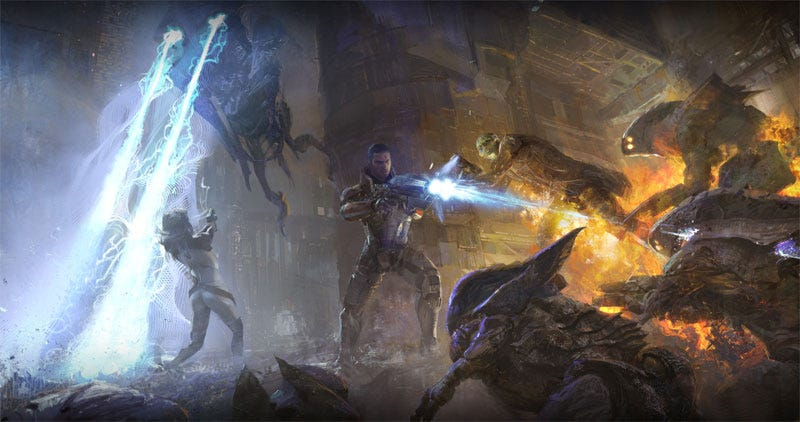 Illustration for article titled Mass Effect: The Movie Is Really Happening