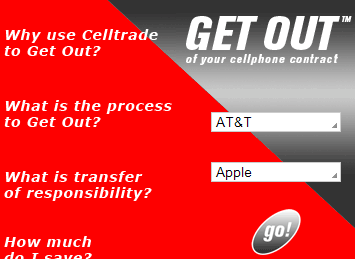 Illustration for article titled Bail Out of Your Cellphone Contract by Trading It